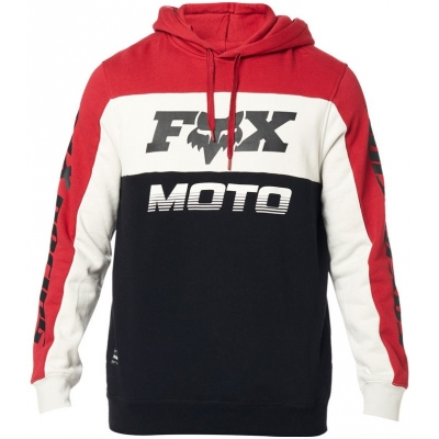 FOX mikina CHARGER Fleece black/red