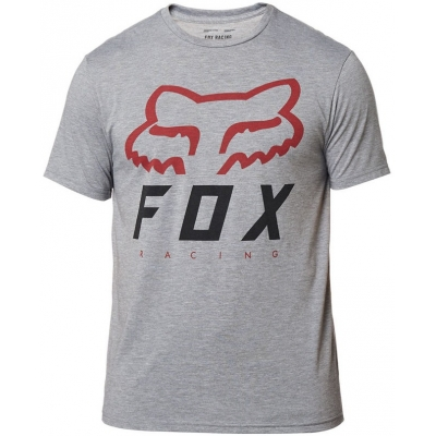 FOX triko HERITAGE FORGER SS Tech graphite/red