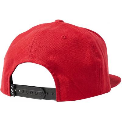 FOX kšiltovka INSTILL red/black