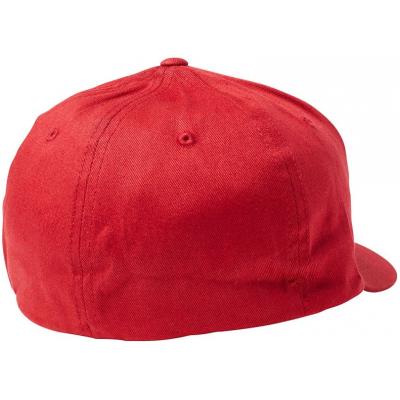 FOX kšiltovka EPICYCLE Flexfit red