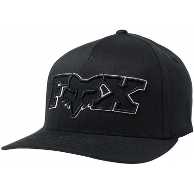 FOX kšiltovka ELLIPSOID Flexfit black