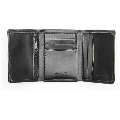 FOX peněženka TRIFOLD LEATHER black