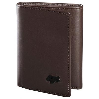 FOX peňaženka trifold LEATHER brown