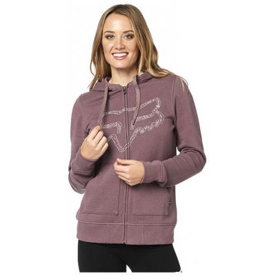 FOX mikina BARSTOW ZIP Fleece dámska purple