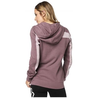 FOX mikina SOLO ZIP Fleece dámská purple