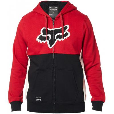 FOX mikina REBOUND SHERPA Fleece black / red