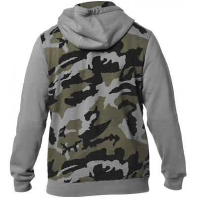 FOX mikina DESTRAKT CAMO Fleece grey camo
