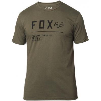 FOX triko NON STOP SS Premium olive green