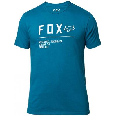 FOX triko NON STOP SS Premium maui blue