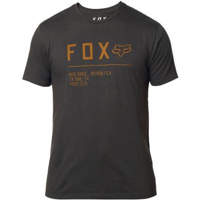 FOX triko NON STOP SS Premium black vintage