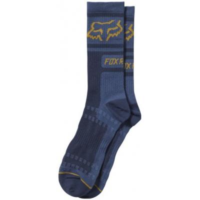 FOX ponožky JUSTIFIED Crew light indigo