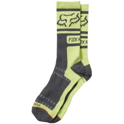 FOX ponožky JUSTIFIED Crew lime