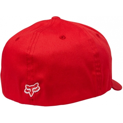 FOX kšiltovka FLEX 45 Flexfit dark red