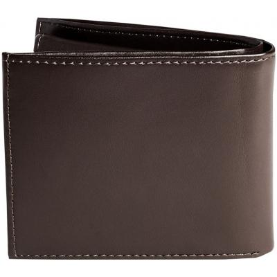 FOX peňaženka Bifold Leather brown