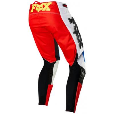 FOX nohavice 360 Linc blue / red