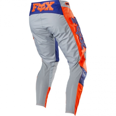FOX nohavice 360 Linc grey / orange