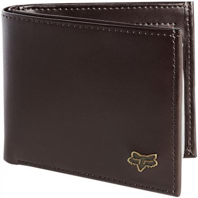 FOX peněženka BIFOLD Leather brown