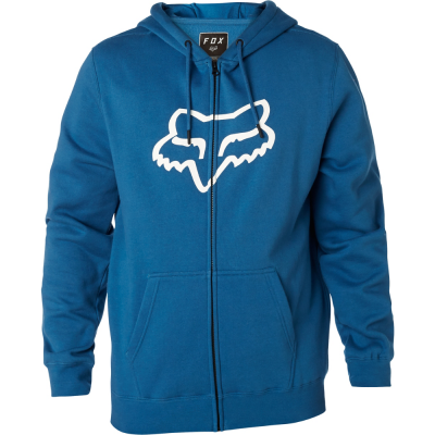 FOX mikina LEGACY FOXHEAD Zip dusty blue
