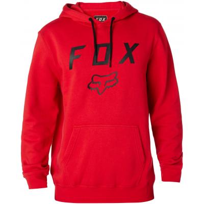 FOX mikina LEGACY MOTH dark red
