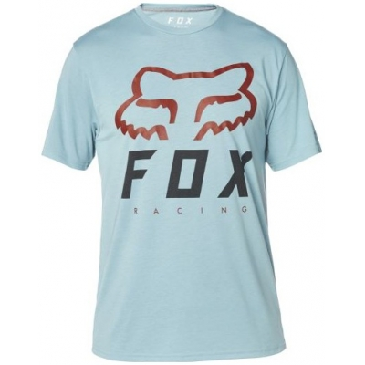 FOX triko HERITAGE FORGER SS Tech pale blue