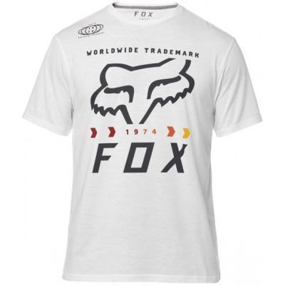 FOX triko MURC FCTRY SS Tech optic white