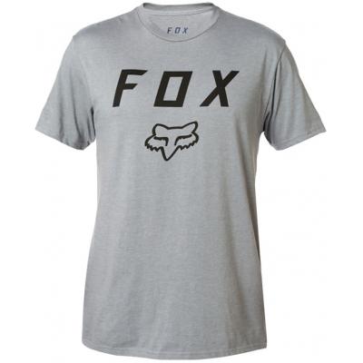 FOX triko LEGACY MOTH SS Premium heather graphite