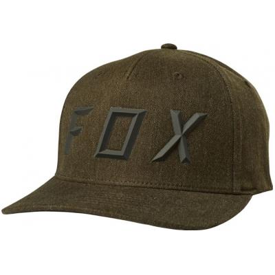 FOX kšiltovka SONIC MOTH Flexfit bark