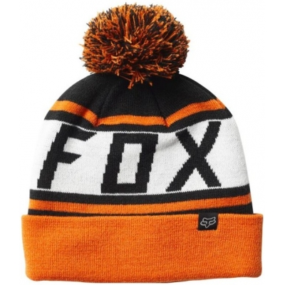 FOX čepice THROWBACK black orange