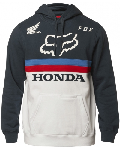 FOX mikina FOX HONDA navy/white