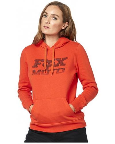 FOX mikina DIE HARD dámská atomic orange