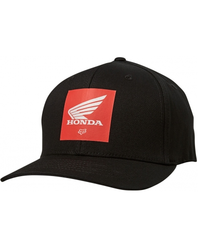 FOX kšiltovka HONDA Flexfit black