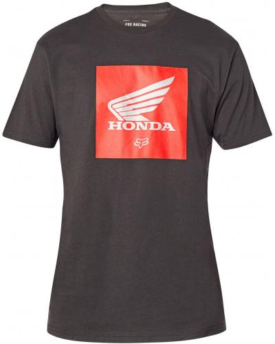 FOX triko HONDA SS Update Premium black vintage