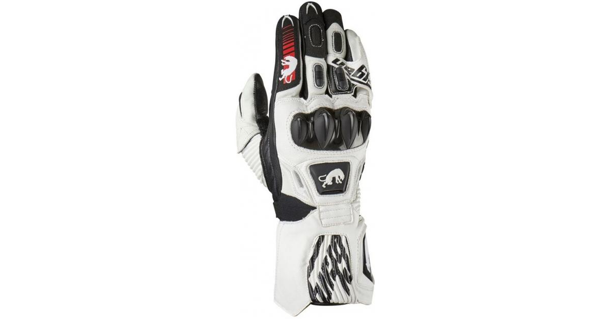 7ecbec866b3ce FURYGAN rukavice FIT-R2 white / black | BONMOTO