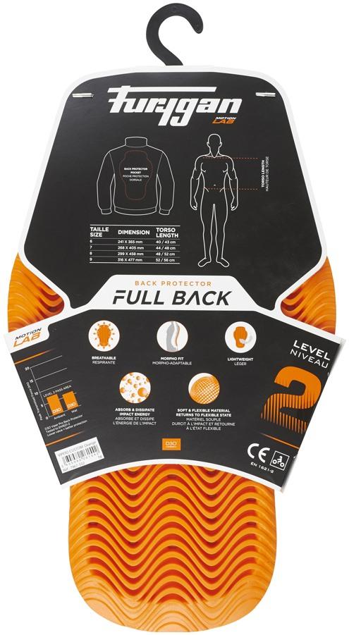 069184e096542 FURYGAN chránič chrbtice D30 VIPER orange | BONMOTO
