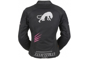 FURYGAN bunda ROCK LADY VENTED dámska black/pink