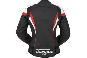 FURYGAN bunda XENIA RACING dámska black / white / red