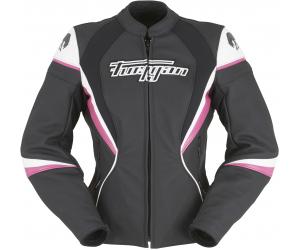 FURYGAN bunda XENIA RACING dámska Black / White / pink