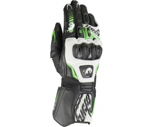 FURYGAN rukavice FIT-R2 black/white/fluo green