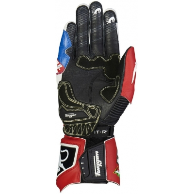 FURYGAN rukavice FIT-R2 Zarco pánske blue/white/red