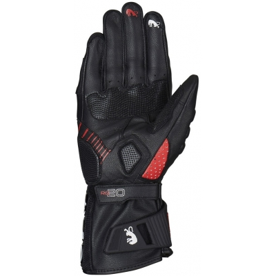 FURYGAN rukavice RG 20 black/red