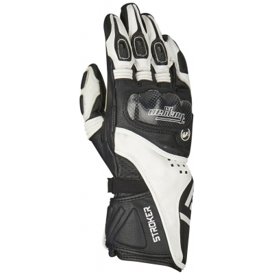 FURYGAN rukavice STROKER black/white