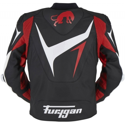 FURYGAN bunda RS-R black/white/red