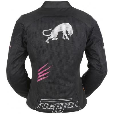 FURYGAN bunda ROCK LADY VENTED dámská black/pink