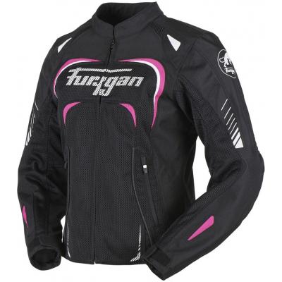 FURYGAN bunda KIARA Vented dámská black/pink