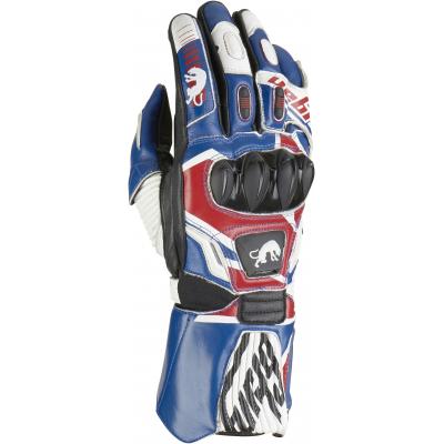 FURYGAN rukavice FIT-R UK blue / red / white
