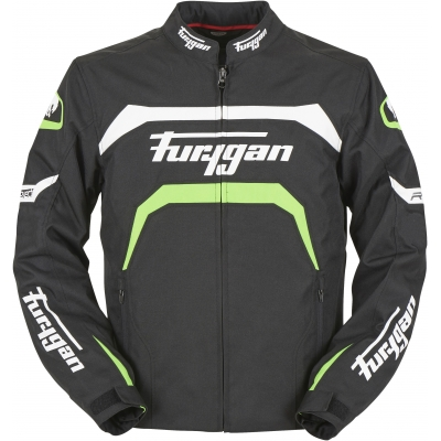 FURYGAN bunda ARROW black/white/fluo green