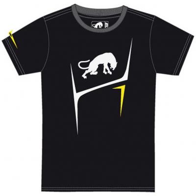 FURYGAN triko FLAMES black/white/fluo yellow