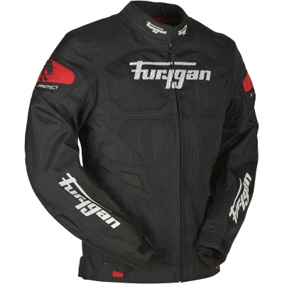 FURYGAN bunda ATOM VENTED black/red