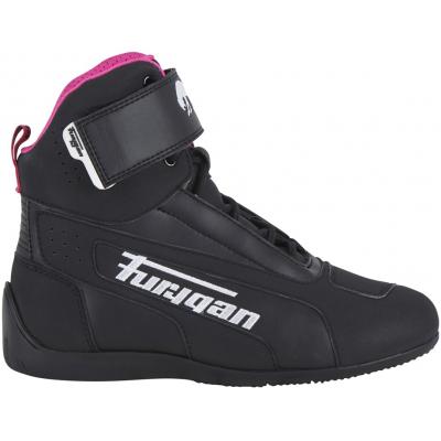 FURYGAN boty ZEPHYR D3O WP dámské black/white/pink