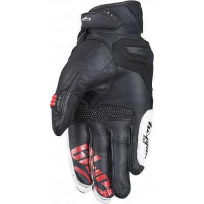 FURYGAN rukavice RG17 blk/wht/red